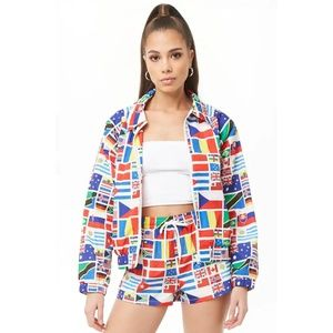 Forever 21 flags 2 piece set